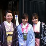 Geishas in training